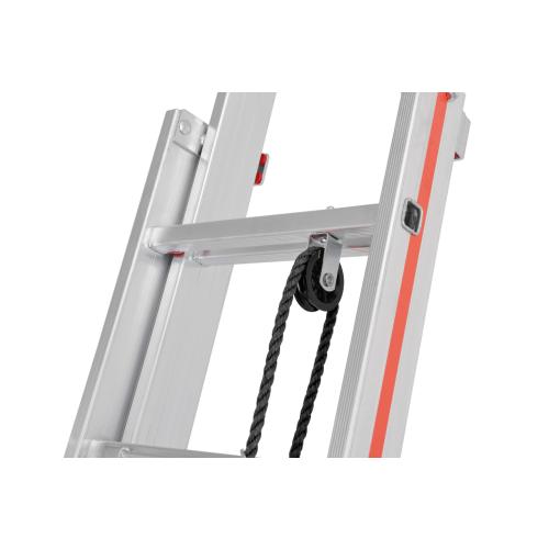 Ersatzteilset Seilrollenhalter für Seilzugleitern